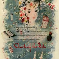 Flowers are the most traditional product of the bunch, but this ad provides delicate imagery not often seen.
