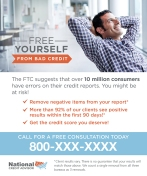 Credit Advisor Helps Repair Consumer's Credit Reports