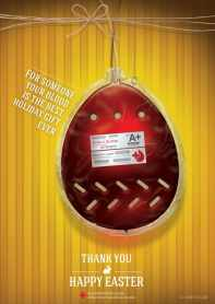 Blood donation - not your typical Easter activity, but important nonetheless.