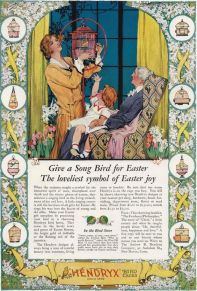 A Song Bird is definitely no longer a traditional Easter gift.
