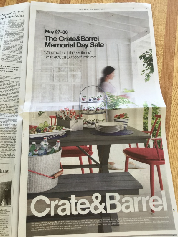 crate + barrel