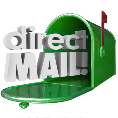 Direct Mail Words Mailbox Advertising Marketing Communication Me